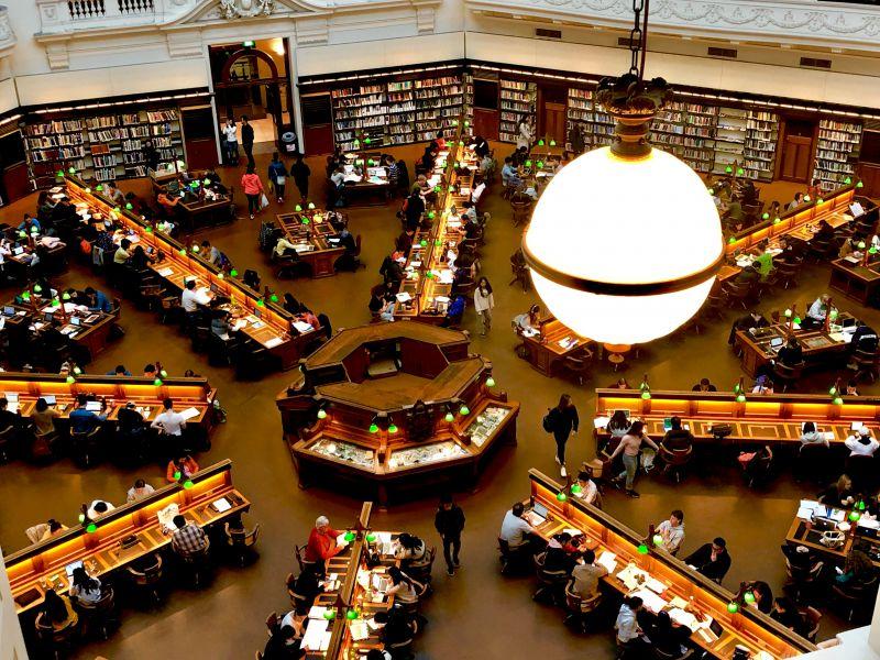 メルボルン,ヴィクトリア図書館